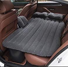 AREO 885 Top Selling Car Back Seat Cover Car Air Mattress Travel Bed Inflatable Mattress Air Bed Good Quality Inflatable Car Bed