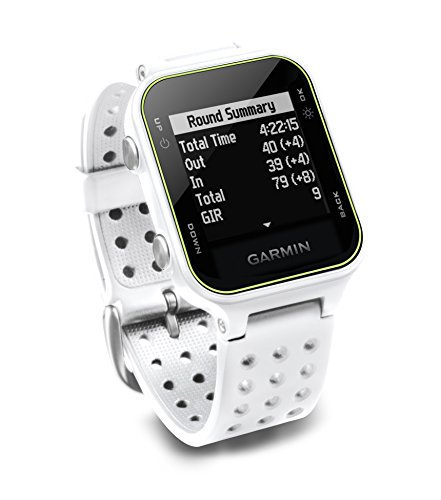 Garmin Approach S20 GPS Golf Watch – White