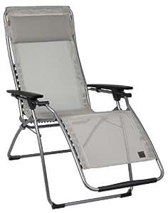 Fauteuil lAFUMA sTABIELO-couleur-oUTDOOR chaise longue pliante et réglable-pliable-charge maximale :  150 kg-sTABIELO armature contre supplément disponible avec holly fächerschirmen-holly sunshade ®-innovation brevetée en allemagne