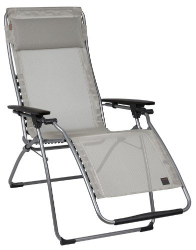 Fauteuil lAFUMA sTABIELO-couleur-oUTDOOR chaise longue pliante et réglable-pliable-charge maximale : charge maximale : 150 kg-sTABIELO armature contre supplément disponible avec holly fächerschirmen-holly sunshade ® innovation brevetée en allemagne -