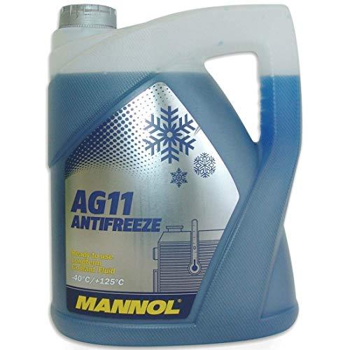 MANNOL 157184005LT MN4011-5 Longterm Antifreeze AG11-40°C Kühlerfrostschutz 5L -