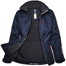 Helly Hansen W Crew Midlayer Jacket - Chaqueta para Mujer, Azul (Blue 30317), M