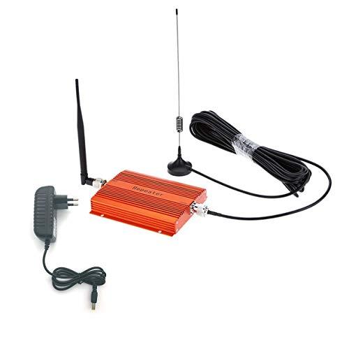 CDMA 850 MHz Handy Signal 3G 4G Repeater Booster Verstärker mit High Gain Antenne Portable Signal Extender (orange) Cdma-handy