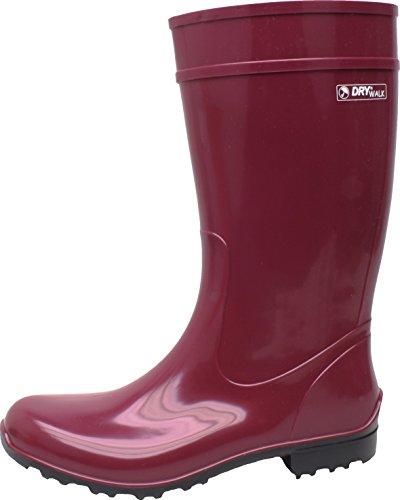 BOCKSTIEGEL® LUISA - Bottes en Caoutchouc Élégant | Femmes | Tailles: 36-42 WineRed/Black