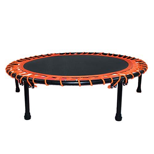 40-Zoll-Fitness-Trampolin - Rundes DäMpfer-Trampolin - Aerobic-TrainingsgeräT - Indoor-Kinder- Und Erwachsenentrampolin - Elastic Rope Style
