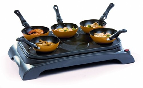 Domo Mini-Wok Set DO8706W schwarz