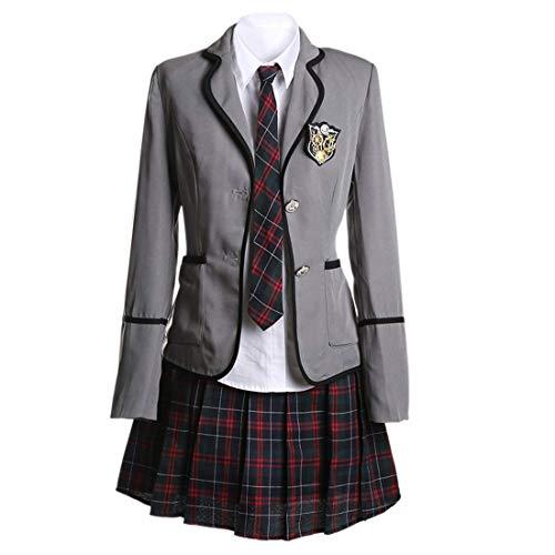 URSFUR Mädchen Japan Kostüm Langärmelige Anzug Cosplay Uniform Anime Uniform - Stil ()