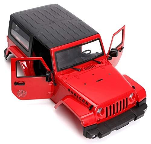 ARUNDEL SERVICES EU 1:10 RC Raupenkörperhülle 1/10 Axial SCX10 II SCX10 / D90 Scale Truck RC-Modelle Harte Karosserie für Wrangler Jeep RC-Modellzubehör