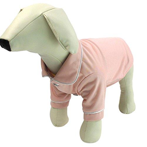 Ropa para Mascotas, Legendog Pet Pijamas Ropa de Acrílico Cálido y Transpirable para Mascotas para Perros y Gatos M