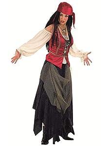 Limit Sport - Disfraz de pirata corsaria Valorius, para adultos, talla S (EA009)