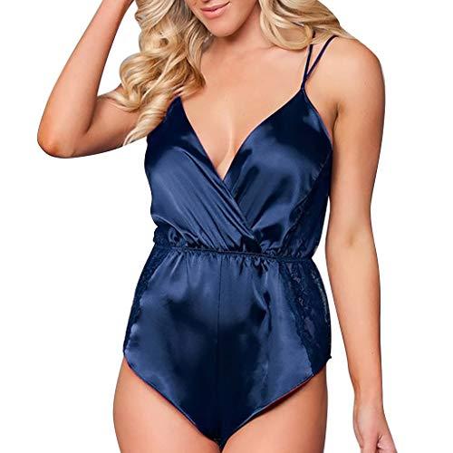 en Sexy, Frauen HöSchen Bikini Tailenmieder Ausschnitt Ouvert Strapsen RüCkenfreie Transparent ReizwäSche BüGel Bra Emotion NachtwäSche Clubwear ()