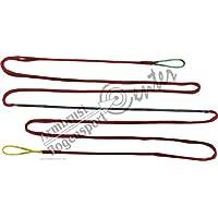 Black Flash Cuerda de Arco, Dacron Tendón 12 Strand para Longitud de Arco 64 Pulgadas, Arco, recurvebogen - Rojo