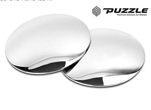cardeco Plus SL lente–ajuste de ángulo Tipo–Soporte de tipo seleccionable instalación productos Moving círculo punto ciego espejo SL lente 2pulgadas (50,8mm) 2-PC Set para todos los vehículos Universal coche ajuste