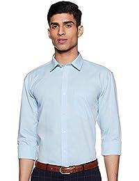 Amazon Brand - Symbol Men's Regular Fit Cotton Formal Shirt