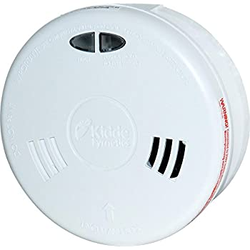 Mains Operated with Sealed-In Rechargeable Kidde Slick 2SFWR Optical Smoke Alarm Lithium Battery Back Up