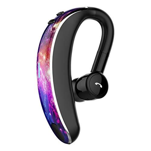 LRWEY Bluetooth Kopfhörer, Bluetooth Wireless Headset Stereo-Kopfhörer Kopfhörer Sport-Freisprecheinrichtung Universal für iPhone, iPad, Samsung, Huawei, HTC und mehr