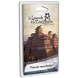 Fantasy Flight Games-La Leyenda De Los Cinco Anillos Tierras Manchadas-Español (FFL5C10)