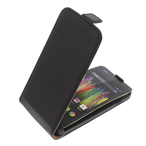 Tasche für Wiko Kite 4G Flipstyle Schutz Hülle Handytasche schwarz