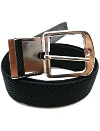 Childrens 1-6 Years Elasticated Belt with Silver Buckle
