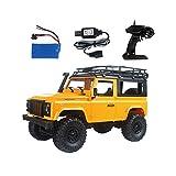 Starter Véhicule tout-terrain télécommandé - véhicule télécommandé débutant MN90 D90 Land Rover Jeep tout-terrain télécommandé RCCAR voiture télécommandée Drift speed buggy jouet cadeau