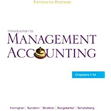 Introduction to Management Accounting: Chapters 1-14