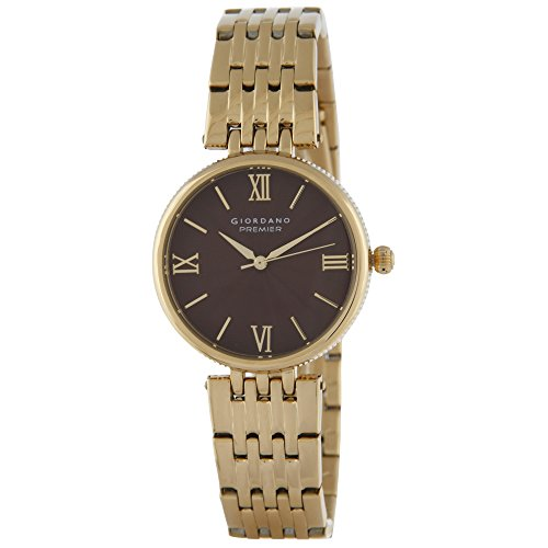 Giordano Analog Brown Dial Women's Watch- 2882-33 image
