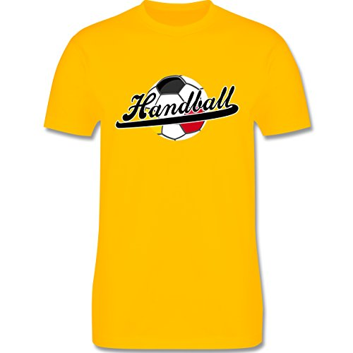 Handball - Handball Deutschland - Herren Premium T-Shirt Gelb