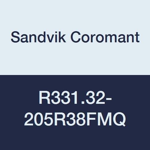Sandvik Coromant r331.32–205r38fmq coromill 331Verstellbare Full Side und Gesicht Fräser, 20,5cm Schneiden Durchmesser, 1.1/5,1cm Anschluss Ø