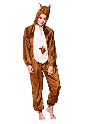 Boland 88438 adultes Costume peluche Kangourou, One Size