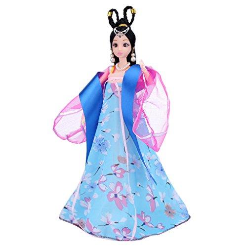 Alt Kostüm Prinzessin Tüllkleid mit Schleife Für Barbie Puppen Zubehör - # 6 (Barbie Kostüm Für Baby)