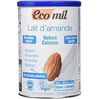 EcoMil Nature, Bebida de almendra Sin Azúcares Añadidos (Calcio) - 400 gr.