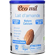 NUTRIOPS - ECOMIL ALMEND NATURE CALCIO 400g NUTRIOPS