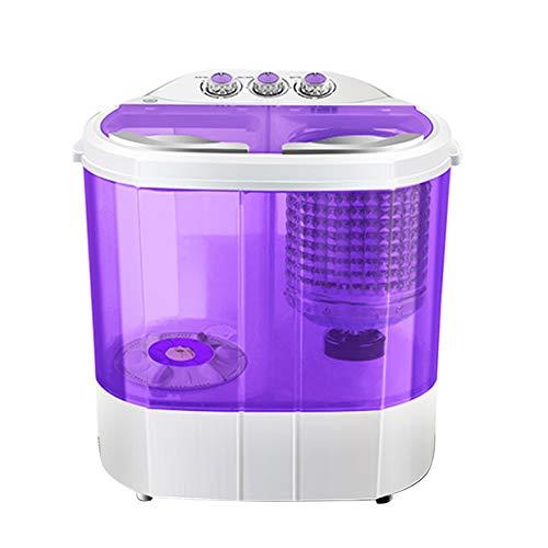 SUNCOO MINI lave-linge compact Machine à laver portable, mini machine à laver pour machine à laver simple avec séchoir et élingue Camping machine à laver pas cher 4,5kg, Viol