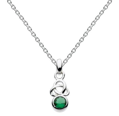 heritage-damen-halsband-925-sterling-silber-smaragd-rot-9348gt013