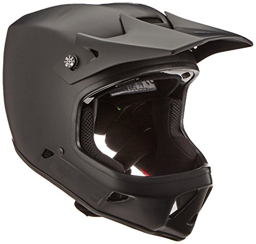 TSG Helm Advance Solid Color, Satin Black, L, 750081 (Visier Sport Schaum)
