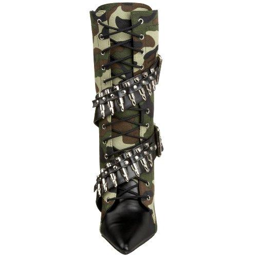 Funtasma MILITANT-128 Damen Stiefeletten Camouflage