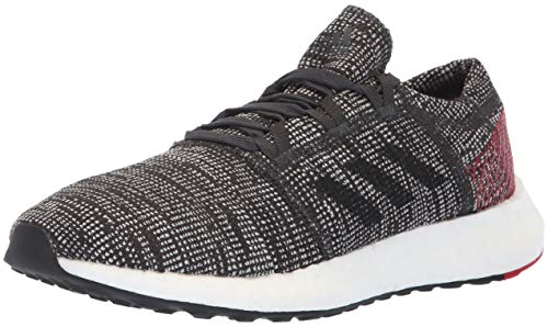 adidas Originals - Pureboost Go Herren, Grau (Carbon/Black/Power Red), 38 EU D(M)