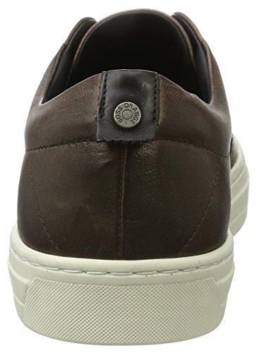 BOSS Casual Herren Noir_Tenn_PP 10198943 01 Sneaker Braun (Medium Brown)