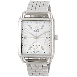 ESQ Movado Women's 07101414 Origin Stainless Steel Case Bracelet White Mother-of-Pearl Dial Watch