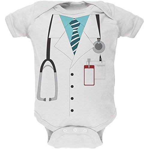 traje-blanco-de-medico-bebe-suave-una-sola-pieza-3-6-meses