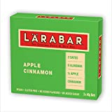 LÄRABAR Apple Cinnamon Fruit and Nut Bar, 3 x 45 g