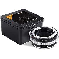 Adaptador Nikon G a Sony E, K&F Concept Lens Mount Adapter para Nikon G AF-S F AIS AI Lens a Sony E-Mount NEX Camera para Sony Alpha A7, A6000, A6300, A6500, A5000, A5100, NEX 7, NEX 5, NEX 6, NEX 3N
