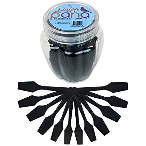 beauticom pana marca Maquillaje desechables de plástico 2.5espátulas Cuidado de la piel facial máscara de crema espátula (100piezas en un