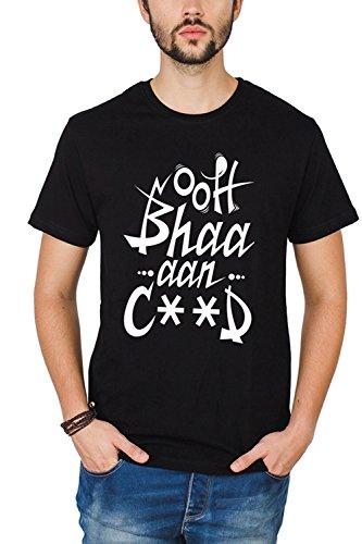 Bewakoof Mens Cotton T-Shirt_Jet Black_L