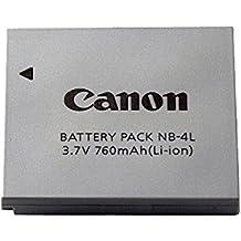 Canon NB-4L - Batería para cámara de fotos para IXUS 130/120 IS/110 IS/100 IS/80 IS/75/70 (lithium ion, NB-4L)