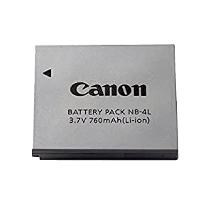 Canon NB-4L Battery Pack