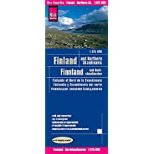 Finlandia y Norte de Escandinavia, mapa de carreteras impermeable. Escala 1:850.000. Reise Know-How.