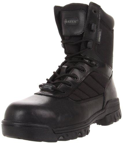 Bates Men's Ulta-lites 8 Inches Tactical Sport Comp Toe Work Boot,Black,9 M US Comp Toe Boot