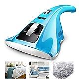 Aspirapolvere portatile UV,Uccide il 99,9 percento di batteri e acari della polvere, aspirapolvere portatile con filo imbottito per materassi,Blue
