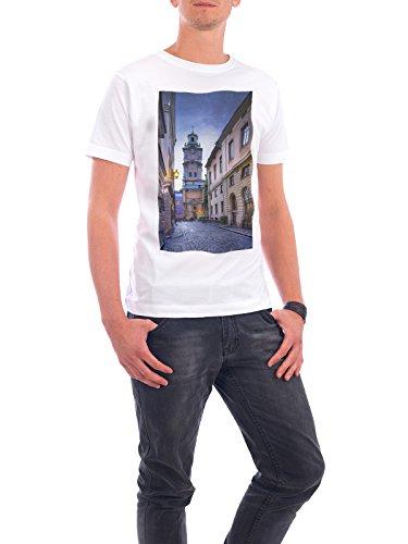 """Design T-Shirt Männer Continental Cotton """"Storkyrkan, Stockholm, Sweden"""" - stylisches Shirt Städte / Stockholm von Domingo Leiva Nicolás Weiß"""